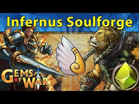 Gems of War: Event Objectives | Centaur of Gravity + Infernus in Soulforge