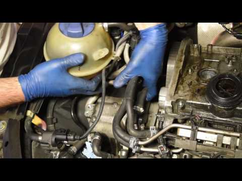 How to Replace The Timing Belt on Audi/VW 1.8L Turbo Engine