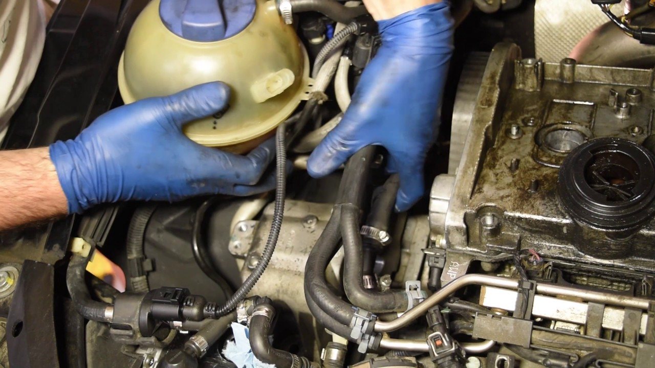 How To Replace The Timing Belt On Audi  Vw 1 8l Turbo Engine