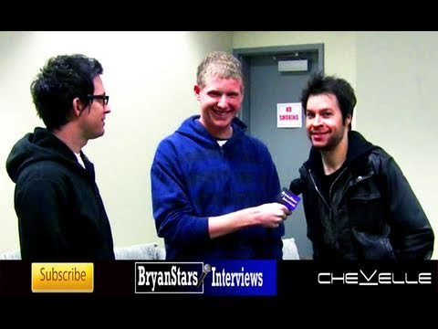 Chevelle Interview Pete Loeffler & Sam Loeffler 2010