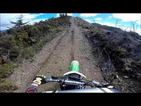 Tory Channel trail ride 2014 NZ