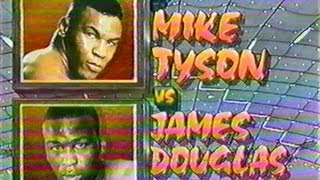 Mike Tyson vs James Buster Douglas - ENTIRE HBO PROGRAM