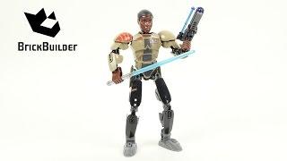 Lego Star Wars 75116 Finn - Lego Speed Build