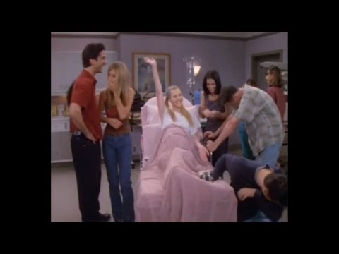Lisa Kudrow says 'dick ditch' in friends