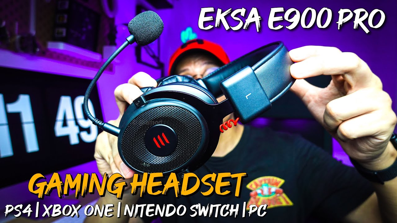 Gaming Headset Dari Overseas | Unboxing EKSA E900 Pro 2-IN-1 Gaming Headset