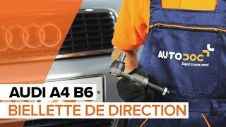Comment changer Embout biellette de direction AUDI A4 (8E2, B6) - guide vidéo