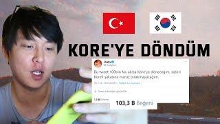 100 BİN BEĞENİ ile KORE'YE DÖNERİM DEDİM ve DÖNDÜM :10 KASIM ÖZEL (Babaanneye ziyaret, Kore savaşı)
