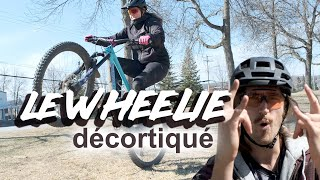 Technique MTB / Le WHEELIE