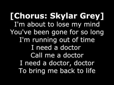 Dr Dre - I Need A Doctor ft. Eminem, Skylar Grey Lyrics [320kbps HQ audio & HD 1080p]