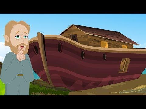 Noah's Ark - Malayalam Bible Stories - Children Christian Bible Cartoon Movie - Bible's True Story