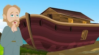 Noah's Ark - Malayalam Bible Stories - Children Christian Bible Cartoon Movie - Bible's True Story