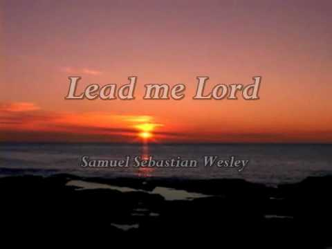 Lead me Lord (in your righteousness)