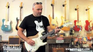 1961 S Series Olympic White Heavy Relic | REBELRELIC GUITAR SHOWCASE