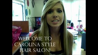 Carolina Style Hair Salon Website Welcome!