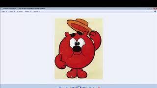 Рисование в фотошопе для детей - Урок 2