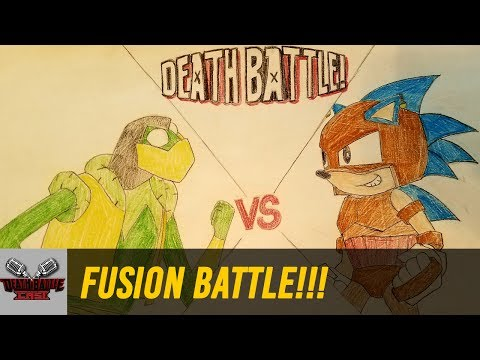 FUSION BATTLE!!! (KERMIT VS SONIC)   DEATH BATTLE Cast