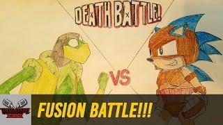 FUSION BATTLE!!! (KERMIT VS SONIC) | DEATH BATTLE Cast