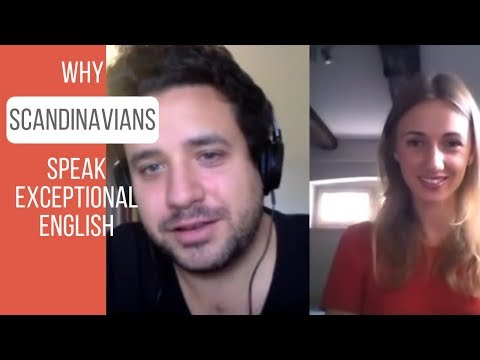 Why Scandinavians speak exceptional English (in Swedish with English subtitles)