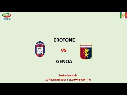 Crotone vs Genoa - Serie A Italia
