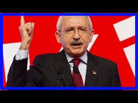 erdoğan : Leader of turkish republican people's party urges to call erdogan fascist and dictator