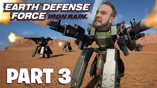 Earth Defense Force: Iron Rain Part 3 - Funhaus Gameplay