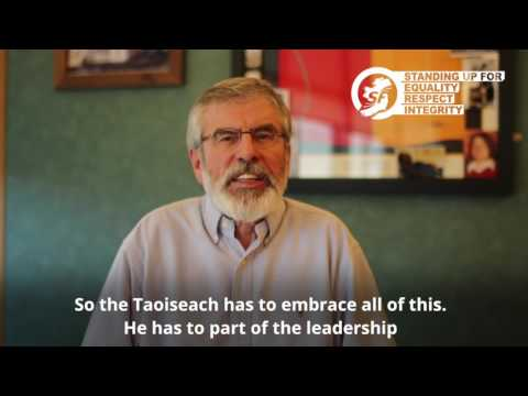 Brexit: Gerry Adams comments on triggering of Article 50