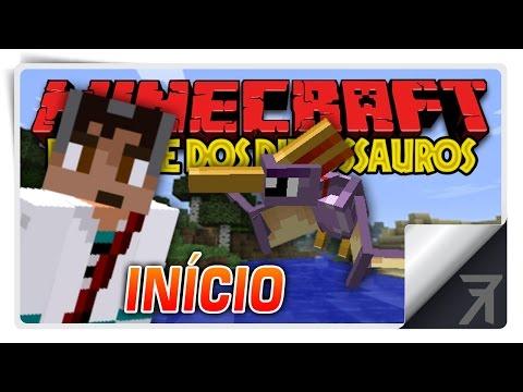 Minecraft Parque dos Dinossauros :: Ep 1 :: Início