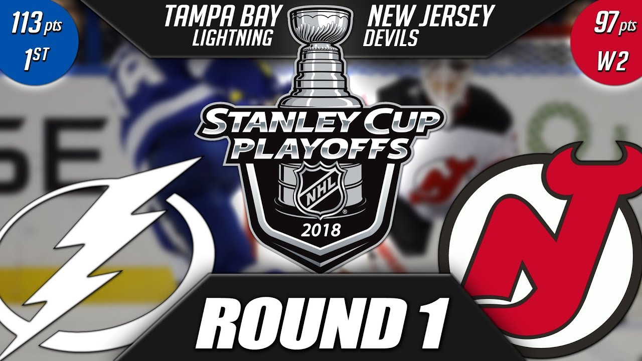 a3b7b9b1b NJ Devils vs TB Lightning - Round 1 Playoff Preview - YouTube