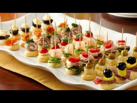 Christmas & New Year Party Appetizers Finger Food Recipes & Ideas