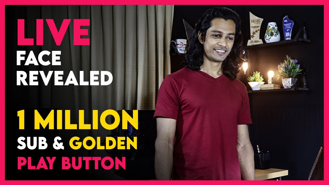 1 Million Subscribers, Golden Play Button, Face Reveal QA Live | Eagle Eyes