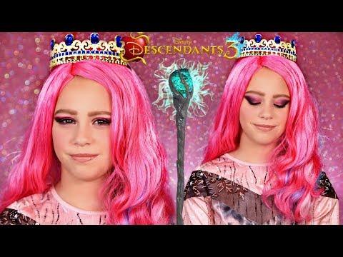 Disney Descendants 3 Audrey Queen Of Mean Makeup And Costume