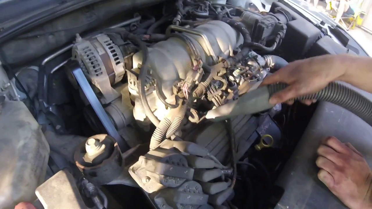 2008 Buick Lacrosse Wiring Diagram How To Change Spark Plugs On A 2007 Buick Lucerne Youtube