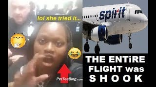 Woman gets Entire Flight Deplaned because she wouldn't Get off, DON'T LAUGH!