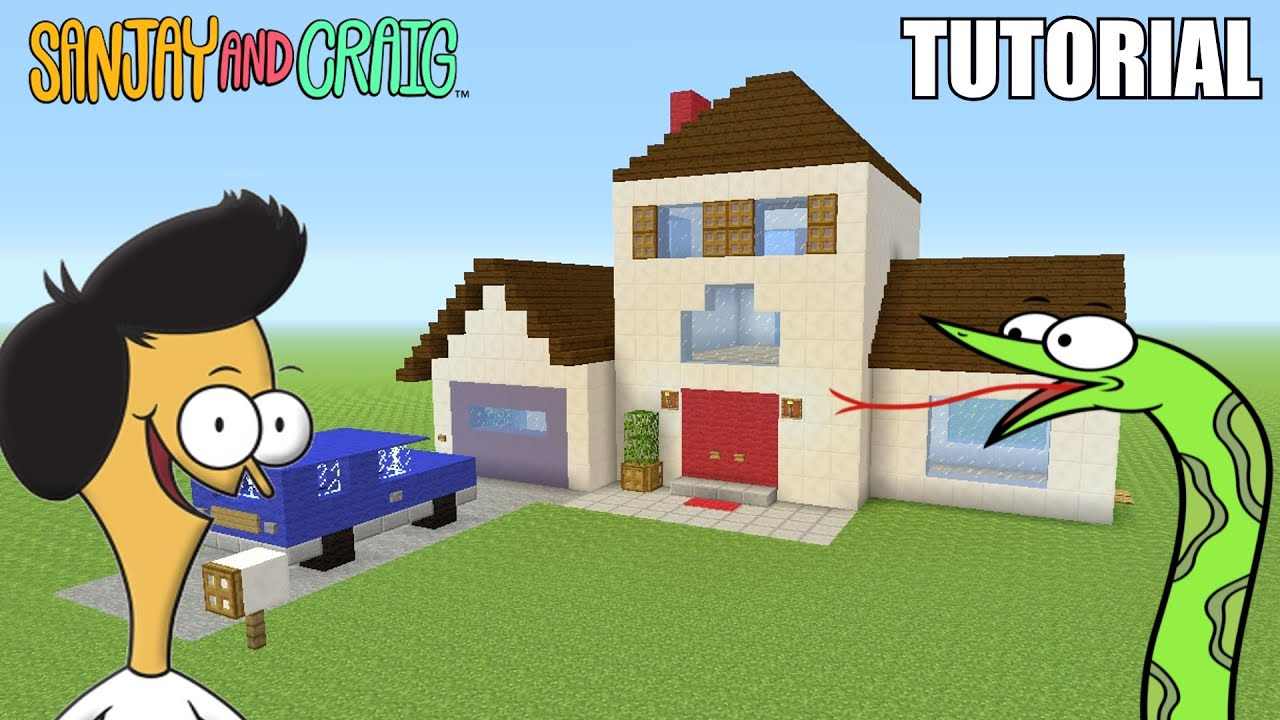 Minecraft Tutorial How To Make Quot Sanjay And Craig S Quot House