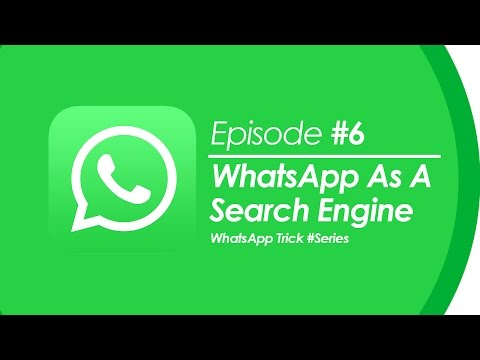How to Use WhatsApp As Search Engine? | NO ROOT | Like Google