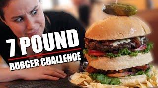 7 Pound Burger Challenge