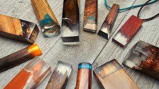 Wood   Resin Jewelry | How To Make Secret Wood Type Necklace Pendants