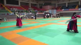 무당춤월도 Korean Shaman Mudang Dance with Woldo Martial Arts performance