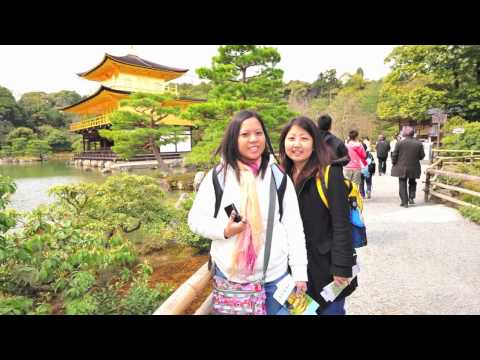 Japan Vacation Trip to Osaka and Kyoto HD