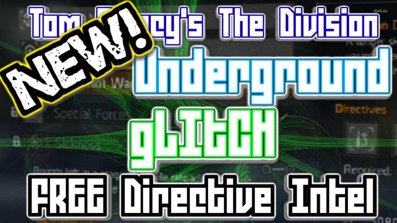 new free directive intel runs glitch underground tom