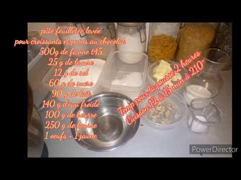 recette-déjeuner-pâte-feuilletée-levée-pour-croissants-et-pains-au-chocolat