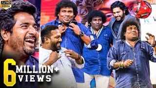 Yogi Babu Robo Shankar Sandy  Therika Vidum Dance And Live Football Match On Stage Laughter Riot
