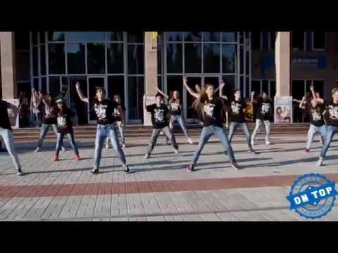 Видео, Школа Танцев  ON TOP   Битва Флешмобов  1 МЕСТО  Flashmob  Hip-hop  Uptown FUNK