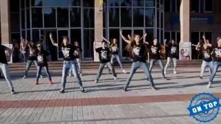 Школа Танцев ◀ ON TOP ▶ | Битва Флешмобов | 1 МЕСТО | Flashmob | Hip-hop | Uptown FUNK
