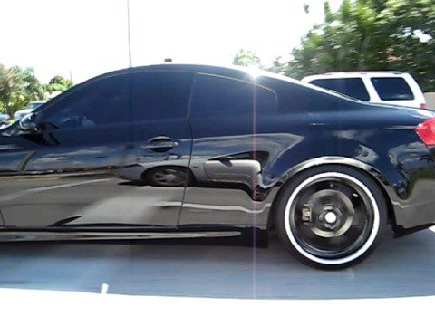 2006 Infiniti G35 Coupe Black On Back Part 4 Youtube