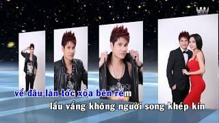 [Karaoke] Về Đâu Mái Tóc Người Thương Remix - Lương Gia Huy ( DJ Đức Khang )