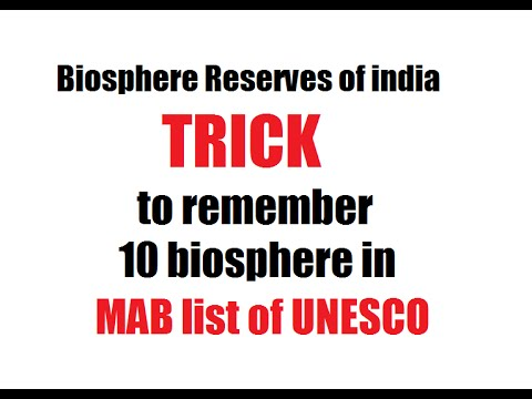 HOW TO  remember Biosphere reserves + All about Biosphere reserves + MAB /UNESCO