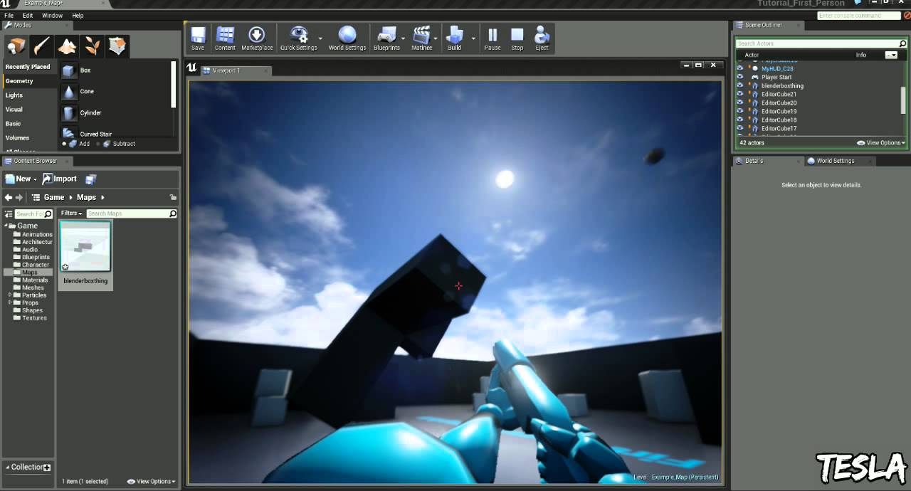Unreal Engine 4 Tutorial - Collision (Quick & Easy)
