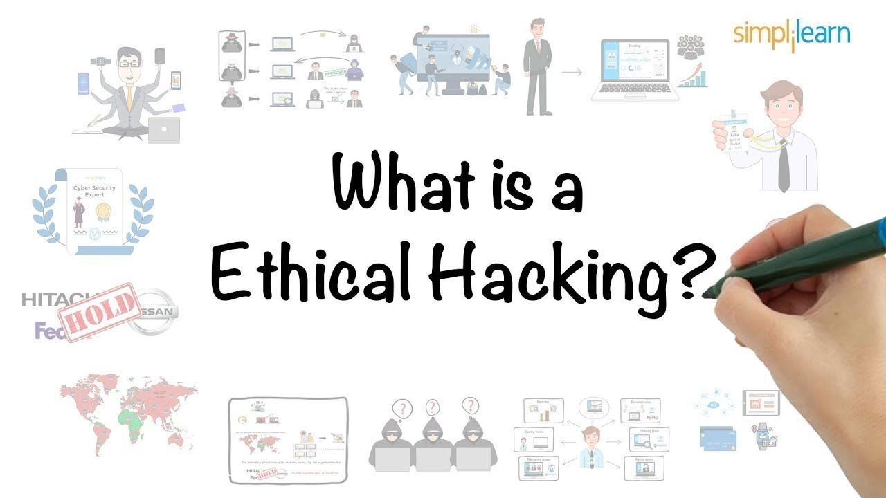 Ethical Hacking In 8 Minutes | What Is Ethical Hacking? | Ethical Hacking  Explanation | Simplilearn - YouTube