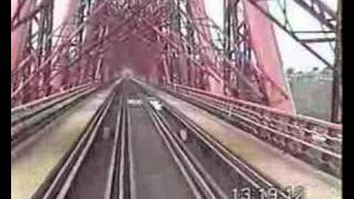 158705 cab ride over forth rail bridge